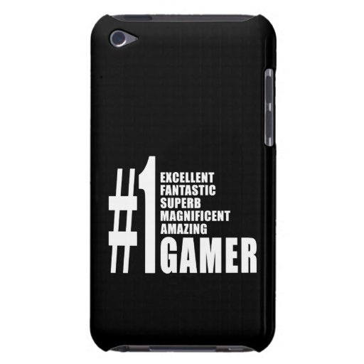 Video Games and Gamers : Number One Gamer Case-Mate iPod Touch Case