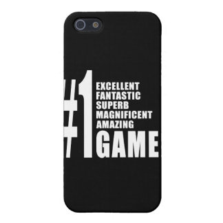 Video Games and Gamers Number One Gamer Covers For iPhone 5