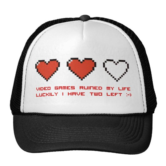 Video Games Cap