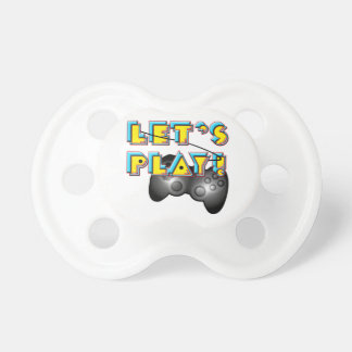Video Games Day - Let's Play! Baby Pacifier