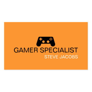 Video Games Gamer Specialist Business Card Template
