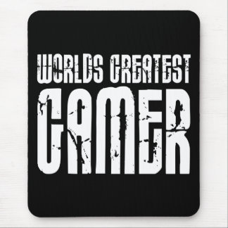 Video Games Gaming & Gamers Worlds Greatest Gamer Mouse Mat