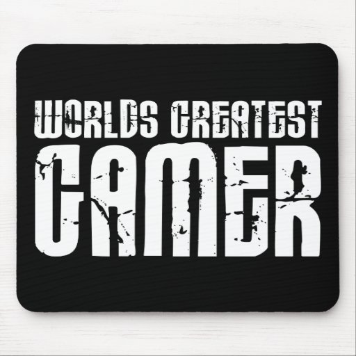 Video Games Gaming & Gamers Worlds Greatest Gamer Mouse Pad
