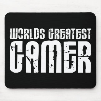 Video Games Gaming Gamers Worlds Greatest Gamer Mouse Pad