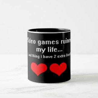 Video Games ruined my life... Coffee Mugs