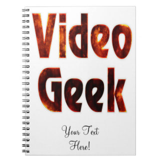 Video Geek Fire Note Books