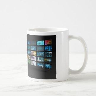 Video Marketing Across Multiple Channels Basic White Mug