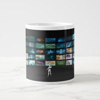 Video Marketing Across Multiple Channels Jumbo Mug