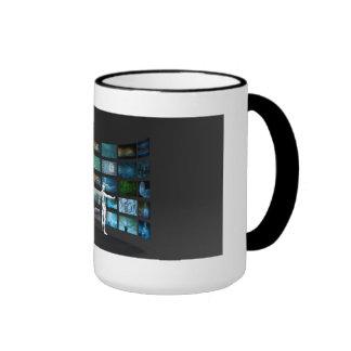 Video Marketing Across Multiple Channels Ringer Mug