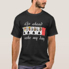 Video Poker : Go ahead make my day T-Shirt