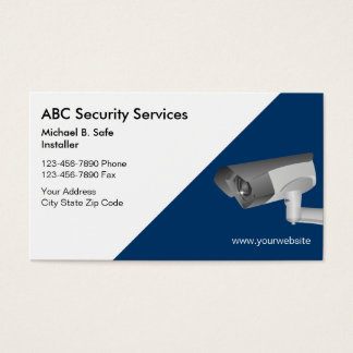 443 security business cards and security business card for Cctv business card