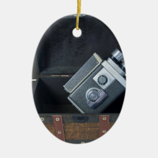 VideoCameraTravelingTrunk052414.png Christmas Ornament