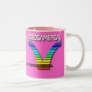 Videogamergal Mugitty Two-Tone Coffee Mug