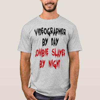 Videographer Zombie Joke T-Shirt