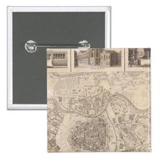 Vienna 2 15 cm square badge
