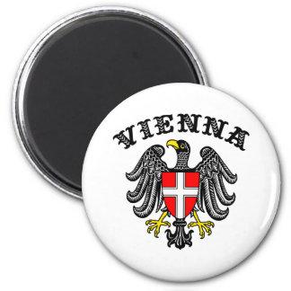 Vienna 6 Cm Round Magnet