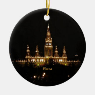 Vienna at Night Christmas Ornament