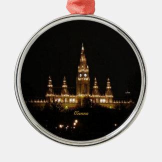 Vienna at Night Christmas Ornament