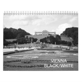 Vienna Austria Black White 2018 Calendar