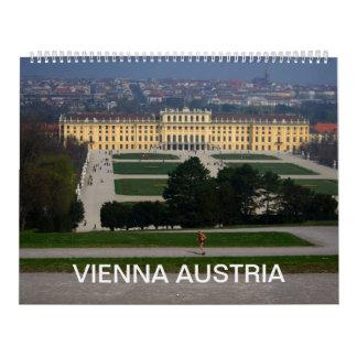Vienna Austria Calendar 2018
