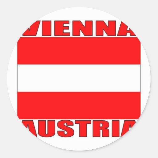 Vienna, Austria Stickers