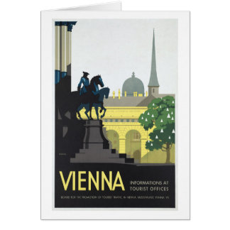 Vienna Austria - Vintage Travel Card