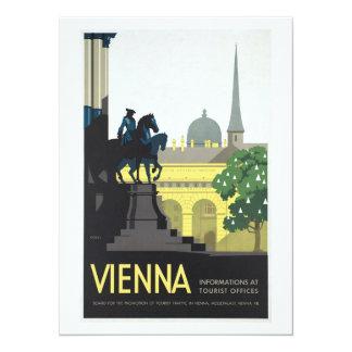 Vienna Austria - Vintage Travel Card