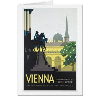 Vienna Austria - Vintage Travel Greeting Card