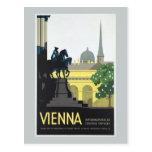 Vienna Austria - Vintage Travel Postcard