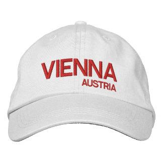 Vienna Austria White Baseball Cap