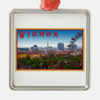 Vienna - Cityscape Christmas Ornament