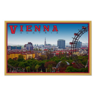 Vienna - Cityscape Poster