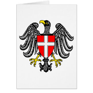 Vienna Coat Of Arms Greeting Card