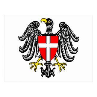 Vienna Coat Of Arms Postcard