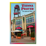 Vienna - Colourful Prater Park Poster