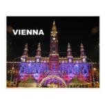 Vienna Rathaus Eistraum (St.K) Postcards