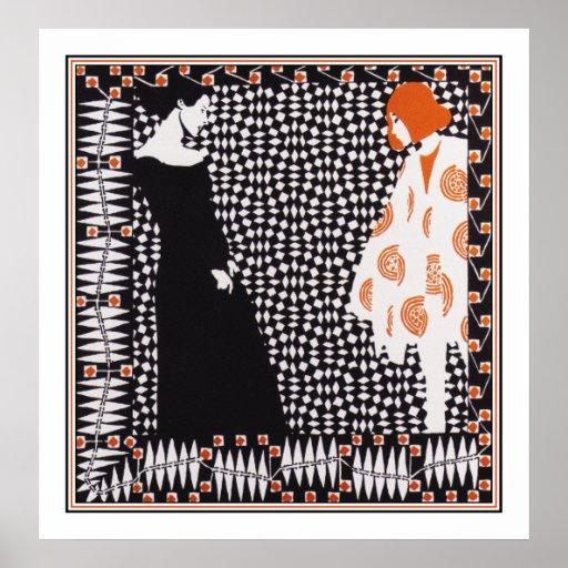 Vienna Secession - Kolo Moser Vorfruhling Poster