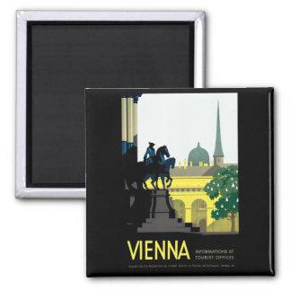 Vienna Square Magnet
