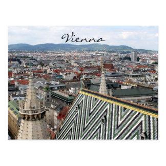 vienna st stephens roof postcard