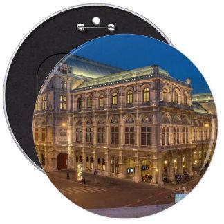 Vienna State Opera, Austria 6 Cm Round Badge