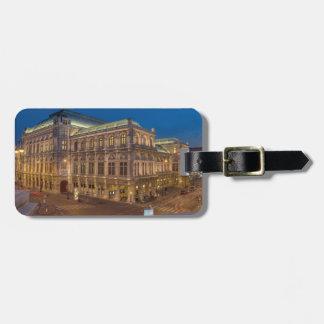 Vienna State Opera, Austria Luggage Tag