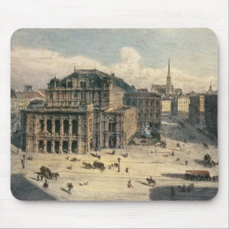 Vienna State Opera House, c.1869 Mouse Pad
