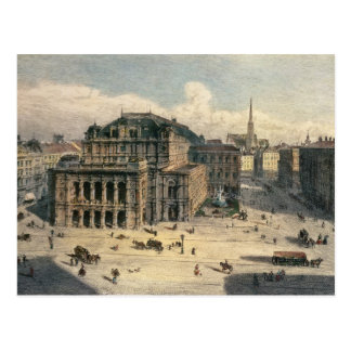 Vienna State Opera House, c.1869 Postcard