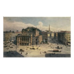 Vienna State Opera House, c.1869 Print