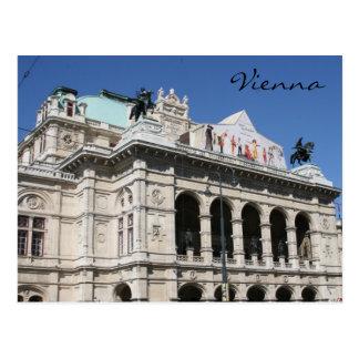 vienna state opera postcard