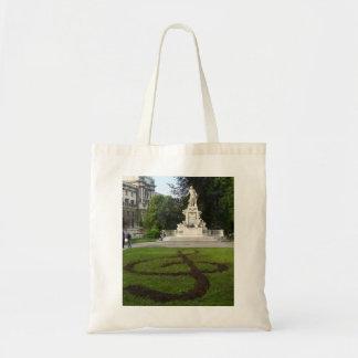 Vienna Statue (Mozart) Budget Tote Bag