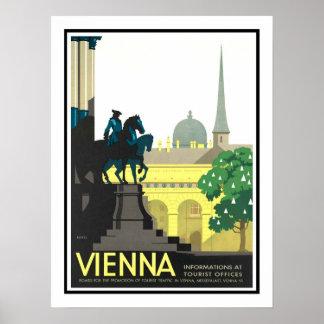Vienna Vintage Travel Poster