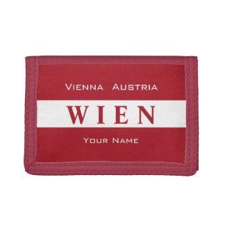 Vienna - Wien custom monogram wallets