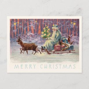Vienna Woods Santa Holiday Postcard
