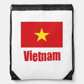 Viet Nam Drawstring Backpack